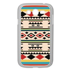 Tribal Pattern Samsung Galaxy Grand DUOS I9082 Case (White)