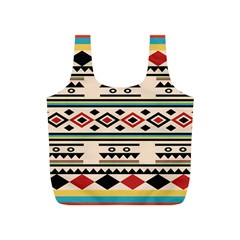 Tribal Pattern Full Print Recycle Bags (S)