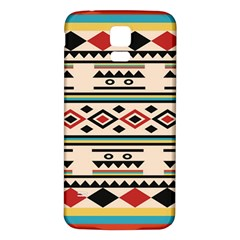 Tribal Pattern Samsung Galaxy S5 Back Case (White)