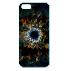 Crazy Giant Galaxy Nebula Apple Seamless iPhone 5 Case (Color)