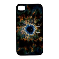 Crazy Giant Galaxy Nebula Apple iPhone 4/4S Hardshell Case with Stand