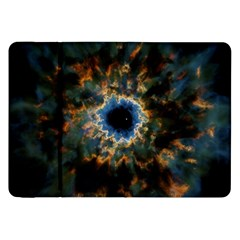 Crazy Giant Galaxy Nebula Samsung Galaxy Tab 8.9  P7300 Flip Case