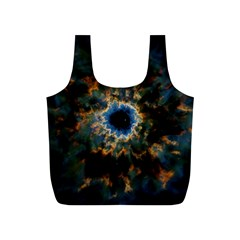 Crazy Giant Galaxy Nebula Full Print Recycle Bags (S)