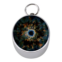 Crazy Giant Galaxy Nebula Mini Silver Compasses