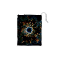 Crazy Giant Galaxy Nebula Drawstring Pouches (XS)