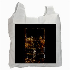 Drink Good Whiskey Recycle Bag (One Side)