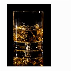 Drink Good Whiskey Large Garden Flag (Two Sides)