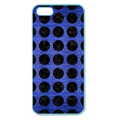 CIR1 BK-MRBL BL-BRSH (R) Apple Seamless iPhone 5 Case (Color)
