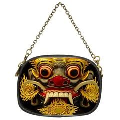 Bali Mask Chain Purses (Two Sides)