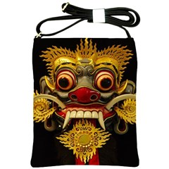 Bali Mask Shoulder Sling Bags
