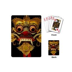 Bali Mask Playing Cards (Mini)