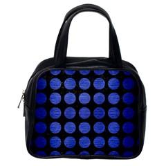 CIR1 BK-MRBL BL-BRSH Classic Handbags (One Side)