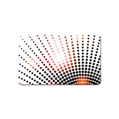 Radial Dotted Lights Magnet (Name Card)