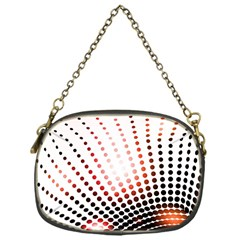 Radial Dotted Lights Chain Purses (One Side)