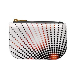Radial Dotted Lights Mini Coin Purses