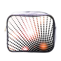 Radial Dotted Lights Mini Toiletries Bags