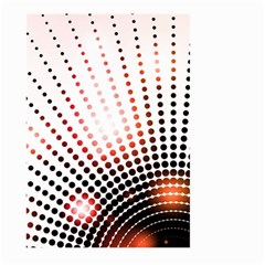 Radial Dotted Lights Large Garden Flag (Two Sides)
