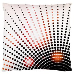 Radial Dotted Lights Large Cushion Case (Two Sides)