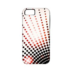 Radial Dotted Lights Apple iPhone 5 Classic Hardshell Case (PC+Silicone)