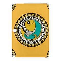 Madhubani Fish Indian Ethnic Pattern Samsung Galaxy Tab Pro 10.1 Hardshell Case