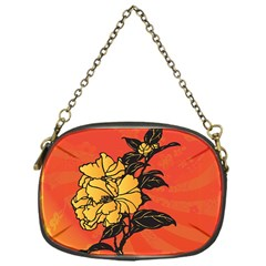 Vector Asian Flowers Chain Purses (One Side)