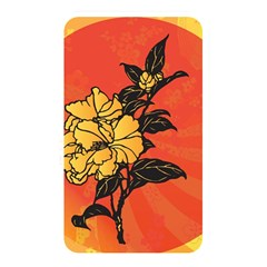 Vector Asian Flowers Memory Card Reader