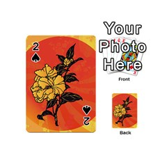 Vector Asian Flowers Playing Cards 54 (Mini)