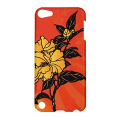 Vector Asian Flowers Apple iPod Touch 5 Hardshell Case