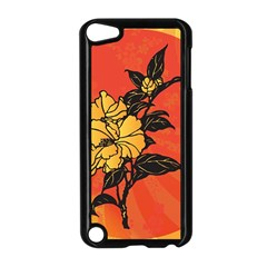 Vector Asian Flowers Apple iPod Touch 5 Case (Black)
