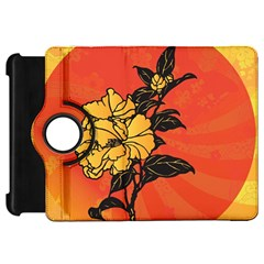 Vector Asian Flowers Kindle Fire HD 7