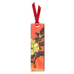 Vector Asian Flowers Small Book Marks