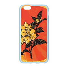 Vector Asian Flowers Apple Seamless iPhone 6/6S Case (Color)