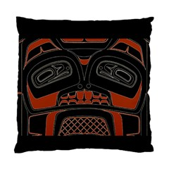 Traditional Northwest Coast Native Art Standard Cushion Case (Two Sides)