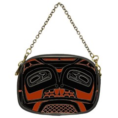 Traditional Northwest Coast Native Art Chain Purses (Two Sides)