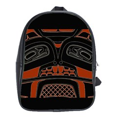 Traditional Northwest Coast Native Art School Bags(Large)