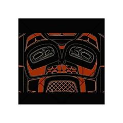 Traditional Northwest Coast Native Art Acrylic Tangram Puzzle (4  x 4 )