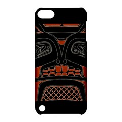 Traditional Northwest Coast Native Art Apple iPod Touch 5 Hardshell Case with Stand