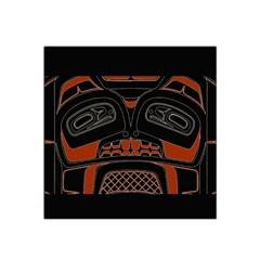 Traditional Northwest Coast Native Art Satin Bandana Scarf