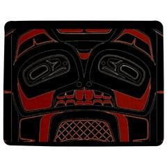Traditional Northwest Coast Native Art Jigsaw Puzzle Photo Stand (Rectangular)