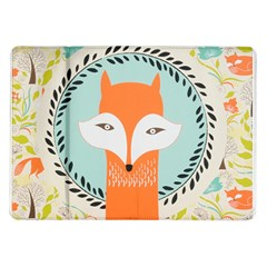 Foxy Fox Canvas Art Print Traditional Samsung Galaxy Tab 10.1  P7500 Flip Case