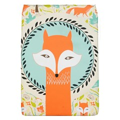 Foxy Fox Canvas Art Print Traditional Flap Covers (S)