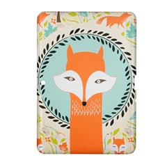 Foxy Fox Canvas Art Print Traditional Samsung Galaxy Tab 2 (10.1 ) P5100 Hardshell Case