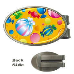 Sweets And Sugar Candies Vector  Money Clips (Oval)