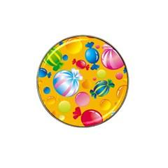 Sweets And Sugar Candies Vector  Hat Clip Ball Marker (10 pack)