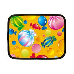 Sweets And Sugar Candies Vector  Netbook Case (Small)