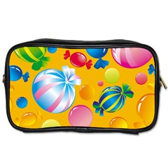 Sweets And Sugar Candies Vector  Toiletries Bags 2-Side