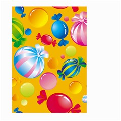 Sweets And Sugar Candies Vector  Large Garden Flag (Two Sides)