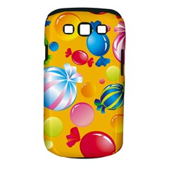 Sweets And Sugar Candies Vector  Samsung Galaxy S III Classic Hardshell Case (PC+Silicone)