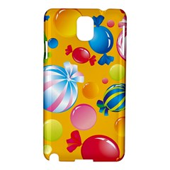 Sweets And Sugar Candies Vector  Samsung Galaxy Note 3 N9005 Hardshell Case