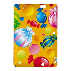 Sweets And Sugar Candies Vector  Kindle Fire HDX 8.9  Hardshell Case